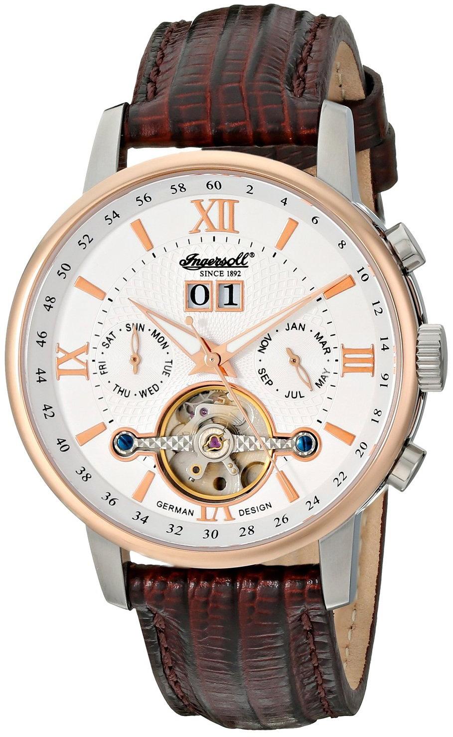 Ingersoll Часы Ingersoll IN1221GUBK. Коллекция Bison